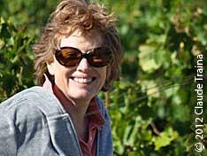 Eugenia in the vineyard